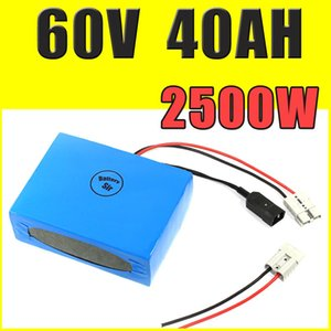 Wholesale 60v 40ah battery for sale - Group buy 60V AH lithium battery super power electric bike battery V lithium ion battery pack charger BMS Free customs duty