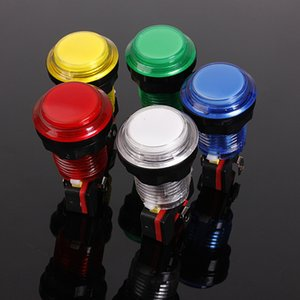 Wholesale 12V A mm small Round Lit Illuminated Arcade Video Game Push Button Switch with LED Light Lamp