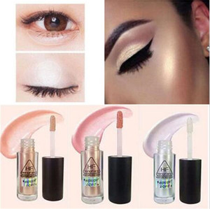 Wholesale highlight make up resale online - Makeup Gold Highlighter Liquid Cosmetic Face Contour Brightener Make Up Concealer Face Foundation Bronzer Highlight Contour Stick Colour