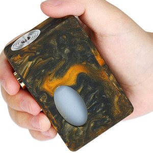 Wholesale metal epoxy resin resale online - Authentic Aleader X Drip Epoxy Resin Squonk Box Mod with ml PET Bottle Newest Vape Unregulated Mod VS Stentorian RAM Original