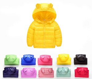 Wholesale 10 Colors Infant Girls Boys Coat 2017 Autumn Winter Jacket For Girls Children Outerwear Coats Baby Girls Jackets Kids Boys Clothes