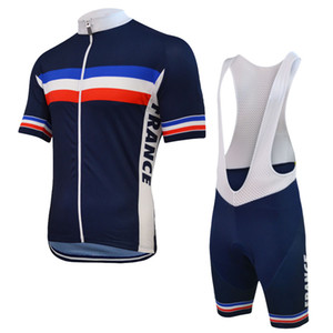 Wholesale new jersey clothing resale online - NEW Customized Hot JIASHUO France FRENCH mtb road RACING Team Bike Pro Cycling Jersey Sets Bib Shorts Clothing Breathing Air