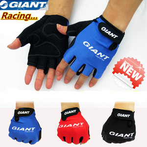 2016 Bike Gloves giant Half Finger Cycling Gloves MTB Bicycle Spring Off Road Motocross Gloves Guantes Ciclismo M-XL
