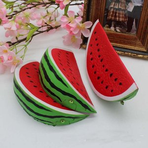 Wholesale The hot sale cm cm squishy kawaii jumbo watermelon slow rising Squishy charm squeeze toy