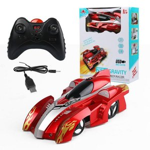 Wholesale Electric Remote Control Wall Climbing Car Wireless Electric Remote Control Cars RC Racing Car Model Toys OOA3817