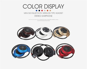 Wholesale android tablet resale online - Mini Wireless Headphone Bluetooth Stereo Sports Earphone Headsets Android Smart Phone iPad Tablet DHL OM CC2