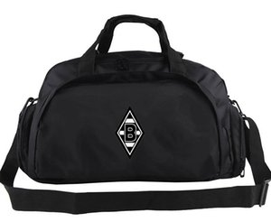 Wholesale cool bags resale online - VfL Borussia Mönchengladbach duffel bag Cool club tote Emblem backpack Football luggage Sport shoulder duffle Outdoor sling pack