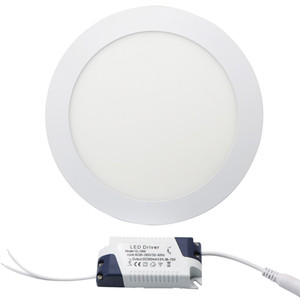Wholesale celling lights for sale - Group buy Edison2011 Efficient W Round Led Panel Light SMD High Super Bright Warm White Cool White Celling Light AC85V V Non Dimmable