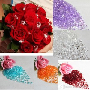 Wholesale 1000Pcs mm Wedding Party Crafts Diamond Decoration Acrylic Crystals Bling Confetti Event Party Supplies Festive Decor