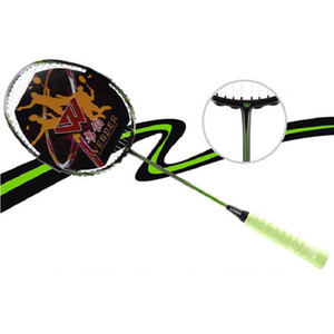 Wholesale High Quality New Pack Single Shot Double Pieces Of Ultra Light Carbon Badminton Racket