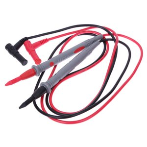Wholesale 1 Pair Universal A V Probe Test Leads Pin for Digital Multimeter Meter Tester Lead Probe Wire Pen Cable