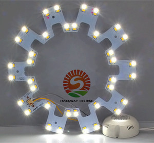 Wholesale 12W W W LED Circle PANEL Light round circular Ceiling lamp SMD LED board for ceiling light AC110 V Driver