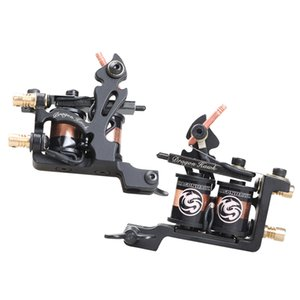 Wholesale new style cool design tattoo coil machine liner gun price black color professional good performance best selling