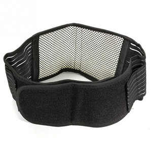 Wholesale- Infrared Magnetic Back Waist Support Lumbar Brace Belt Double Pull Strap Lower Pain