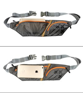 Wholesale FREE SOLDIER Outdoor sports camping hiking multifunction running waist bag water resistant wearable waist bag