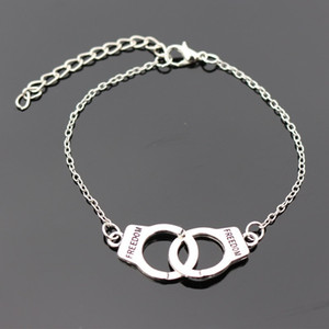 Wholesale Charm Bracelets For Men Women Retro Jewelry Link Chain Bracelet Bangle Handcuff Valentines Day Gift