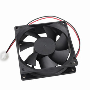 Wholesale Black DC V V Laptop Cooling Fan Terminal Brushless Blower Cooler for computer CPU PC Case Home and Industry Accessory