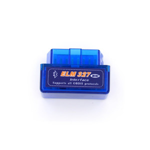 Wholesale Super Mini Elm327 Bluetooth OBD2 V2 Elm Android Adapter Car Scanner OBD Elm OBDII Auto Diagnostic Tool Scanner