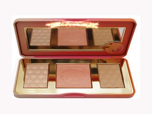 Dropshipping in stock New Arrivals hot new Sweet Peach Glow infused Bronzers & Highlighters makeup blush palette
