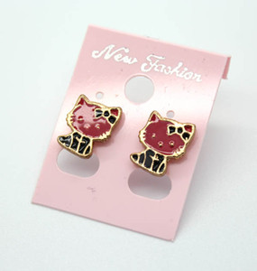 Wholesale Hot pairs of cartoon images earrings fashion accessories exquisite children s small gifts