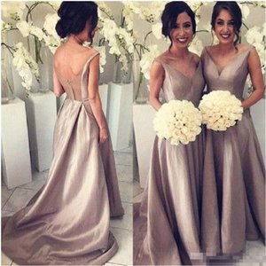 Arabic Sweetheart Long Bridesmaid Dresses 2017 Luxury Taffeta A line Saudi Dubai Long Maid of Honor Dress Ruffled New Wedding Party Gowns on Sale