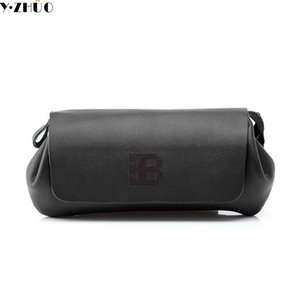 Wholesale Unique design enuine leather bag High quality Business Casual men clutch bag Cowhide handbags Long wallets purses