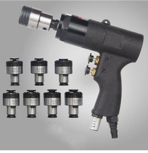 Tapping Tool 400rpm Pneumatic Tapping Machine Torque Protected Self-locking & 7pcs Chuck M3 M4 M5 M6 M8 M10 M12