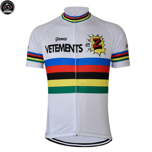 Color Lines Retro Classical Mountain Road RACE BikeTeam Pro Cycling Jersey   Shirts & Tops Clothing Breathable Customized JIASHUO