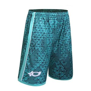 Wholesale Basketballs Short Summer Brand KD Kevin Durant Hot Baggy Bermuda Male Loose Runs Men's Shorts Active Plus Size 3XL