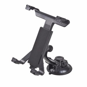 Wholesale New Universal PC GPS Car Windshield Back Seat Headrest Table Mount Tablet Holder For iPad Tablet Stand Black