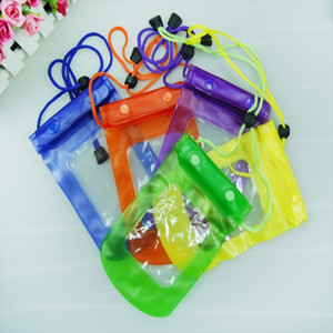 Wholesale Clear Waterproof Pouch Bag Dry Case Cover For All Cell Phone Camera Mobile phone waterproof bag