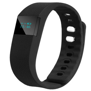 Wholesale FITBIT TW64 Wristband Smart Band Smartband Sport Bracelet Bluetooth Wristbands Fitness Activity Tracker Passometer For IOS Android pc