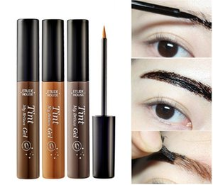 Wholesale EMS DHL Fast shipping Makeup Brown Eyebrow Gel Colors Cejas Make Up Crayon Sourcils Waterproof Eyebrow Tint My Brows Pen Maquiagem