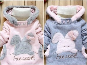 New !Baby Rabbit Outerwear Girls Cute Clothes Hoodies Jacket Winter Coat 2-6Y on Sale