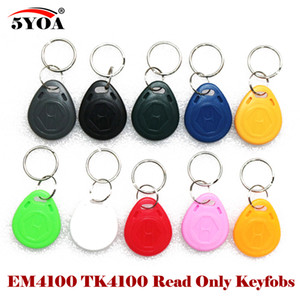 Wholesale 125khz rfid proximity id card resale online - 125Khz RFID Proximity ID Card Token Tags Key Keyfobs for Access Control Time Attendance