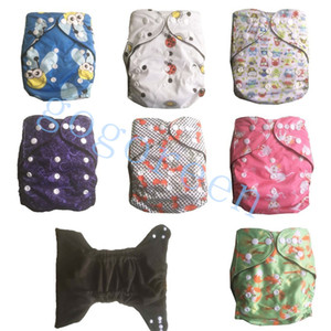 Wholesale bamboo waterproof diapers resale online - Newest Bamboo Cloth Diapers Baby Nappies waterproof baby bamboo Diapers