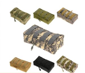 Wholesale molle mag pouch for sale - Group buy 2017 Tactical MOLLE PALS Modular Waist Bag Pouch Utility Pouch Magazine Pouch Mag Accessory Medic Tool Pack