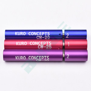 Kuro Koiler Wire Coiling Tool CW-20 CW-25 CW-30 Silica Wick Pre-made Welded Wires - NR-R-NR Vaping Winding Jig Tool 200pcs lot