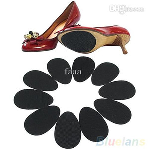 Wholesale-5 Pairs Anti-Slip High Heel Shoes Sole Grip Protector Non-Slip Cushion Pads 2MFJ