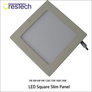 Wholesale Indoor lights Slim LED panel Light Ultra thin Recessed Ceiling Light Grid lamp for home office kitchen bed room baby room lighting
