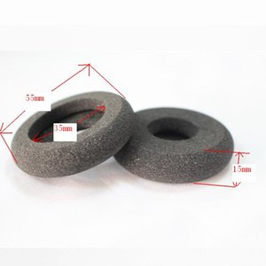 Wholesale call center for sale - Group buy 1 pair mm Donut foam earpads replacement ear cushions call center headset sponge ear pads cushion