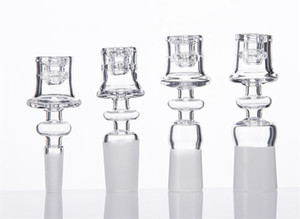 Diamond Knot Quartz Domeless Nail 19.5mm Bowl 10mm 14mm 18mm Male & Female Enail Fit 20mm Heating Coil