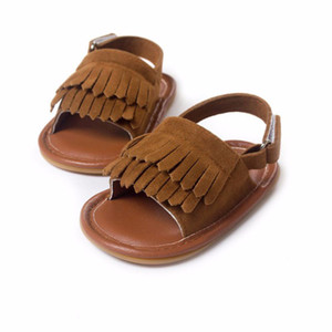 Wholesale sandals of girls for sale - Group buy Baby Moccasins Baby Sandals Summer Leisure Fashion Baby Girls Sandals of Children PU Tassel Shoes