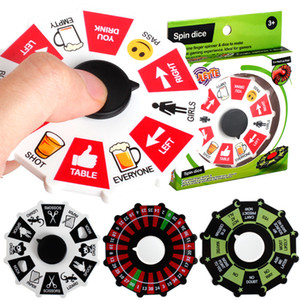 Fortune Roulette Wheel Fidget Spinner Lucky Wheel Spinners Spinning Turntable Hand Spinner Stress Relief EDC Decompression Fidget Toys DHL