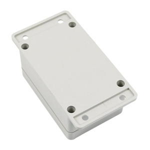 Wholesale- GTFS-White Waterproof Plastic Electronic Project Box Enclosure Case 100*68*50mm