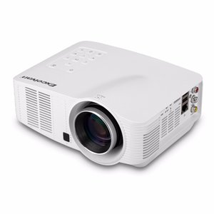 Wholesale Excelvan LED3018 Wifi Android Projector HD Portable LCD LED Proyector Home Movie Theater for PC DVD TV BOX Camera EU