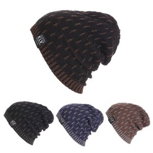 Wholesale Winter Hat Casual Unsex Knitted Hats For Men Baggy Beanie Hat Crochet Slouchy Oversized Ski Caps Warm Skullies Toucas Gorros