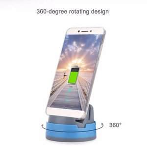 Wholesale 360 Degree Rotating micro usb Type C Portable Stand Charging Desktop Dock Station for iphone samsung S7 S8 LG mobile