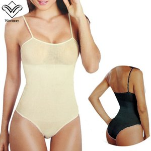 Wholesale Waist Trainer Hot Sexy Seamless Triangle Pants Spaghetti Strap Jumpsuits Bodysuit Body Shaeper Shaperwear Slimming Body Shapers Corsets
