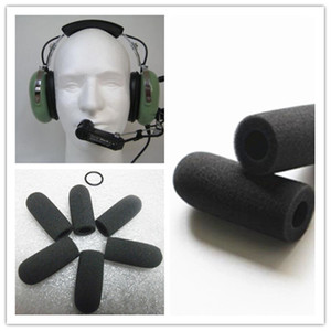 10pcs Foam windscreen mic windshields quality foam cover suit for David Clark M-7 headset microphones
